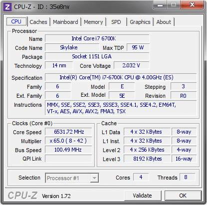 Intel-Core-i7-6700K-6500mhz-6.5GHz-Overclock-CPUz