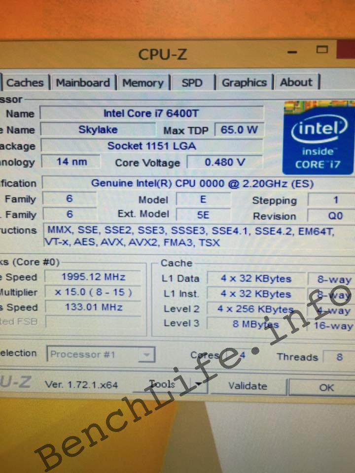 Intel Skylake BCLK Overclocking i5 6400T 133mhZ