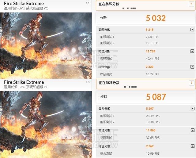 Intel i7 6700K 4790K 3DMARK Firestrike Extreme