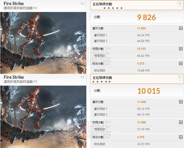 Intel i7 6700K 4790K 3DMARK Firestrike