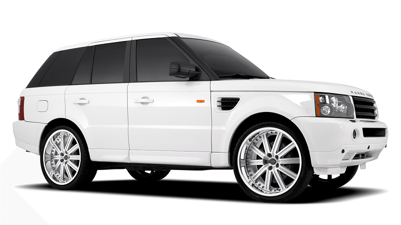 Range Rover Wheels - Redbourne Baron in Silver