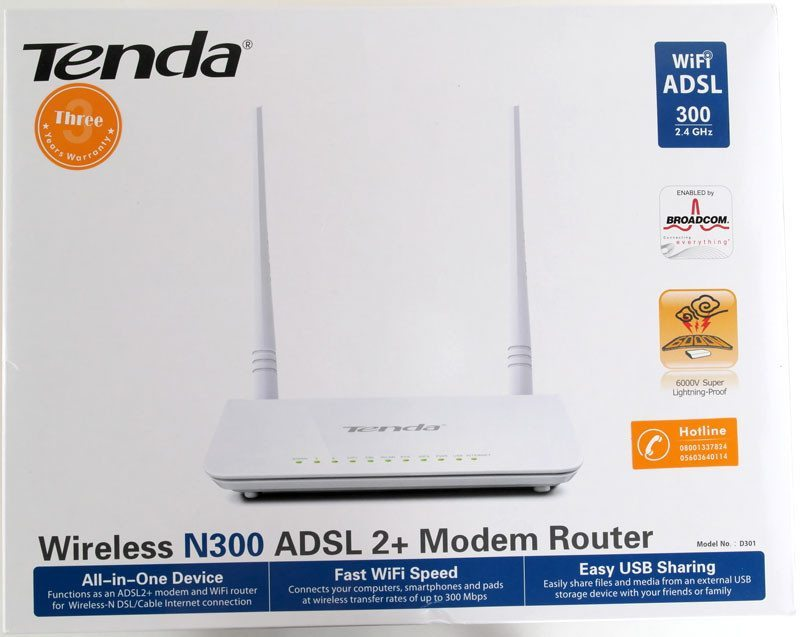Tenda_D301_ADSL2pModemRouter-Photo-box-front