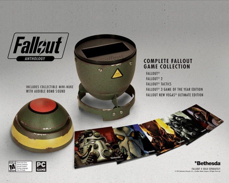 bethesda fallout anthology