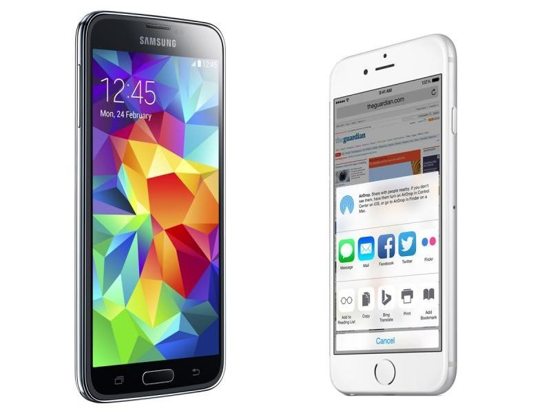 iphone-6-vs-samsung-galaxy-s5