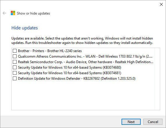 windows update troubleshooter 2