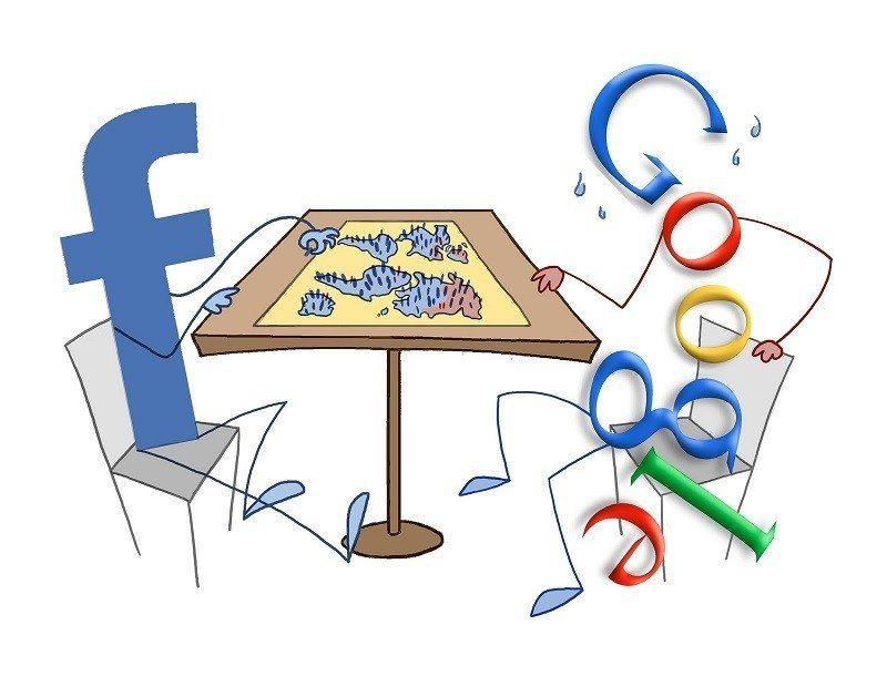 Facebook--Google