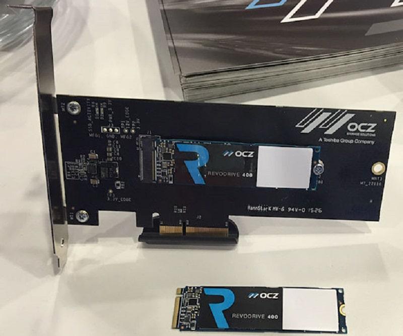 OCZ RevoDrive 400 NVMe SSD M2