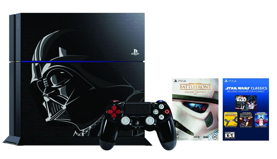 Sony Star Wars Darth Vader PS4 Bundle Console 1