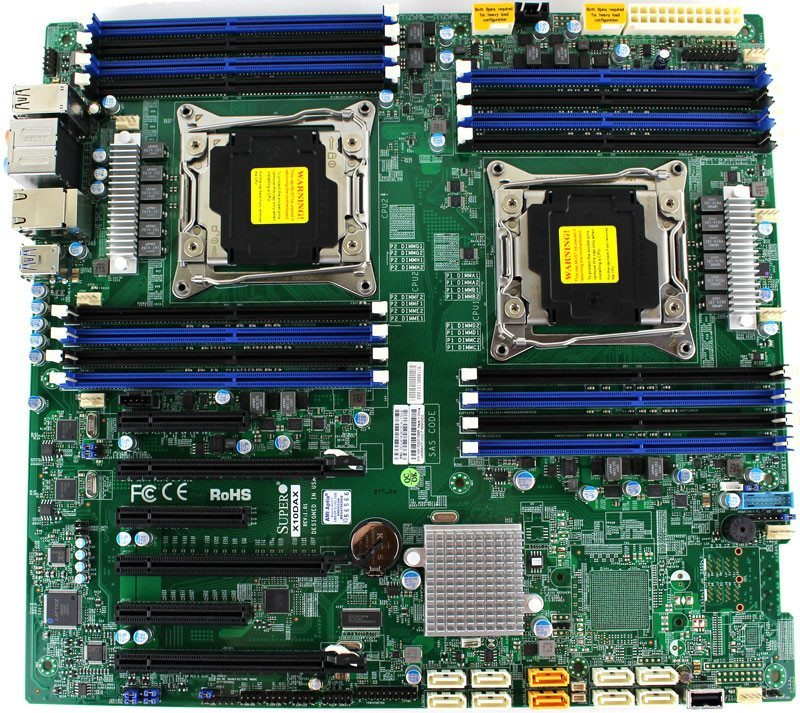 Supermicro_X10DAX Photo top 800x713 supermicro x10dax (intel c612) workstation motherboard review Basic Electrical Wiring Diagrams at panicattacktreatment.co