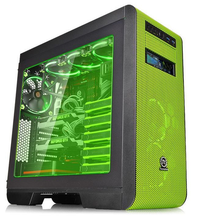 Thermaltake_Core_V51_Riing_Edition_Window_Green_001