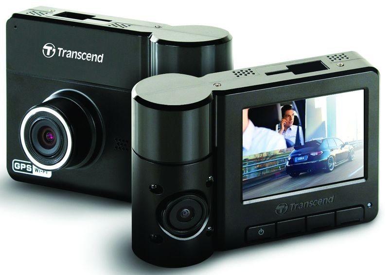 Transcend-DP520 Dual Lens Car Camera