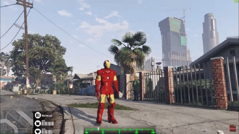 Check Out This Video of GTA V's Iron Man Mod!   eTeknix