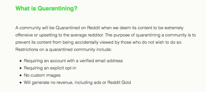 reddit quarantine 2