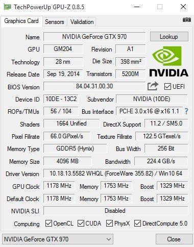 GPU-Z Overclockers JW 2