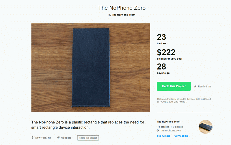NoPhone Zero