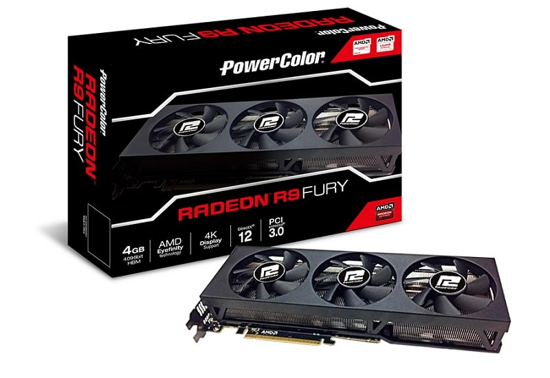 PowerColor AMD Radeon R9 Fury GPU Fiji