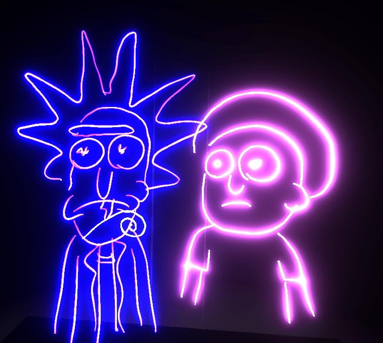 Rick-and-Morty tiltbrush