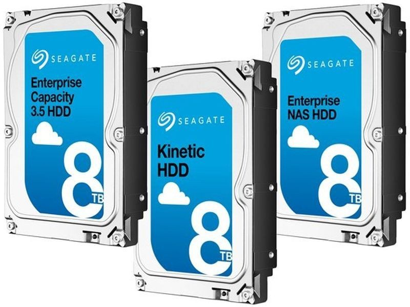 Seagate 8TB drives