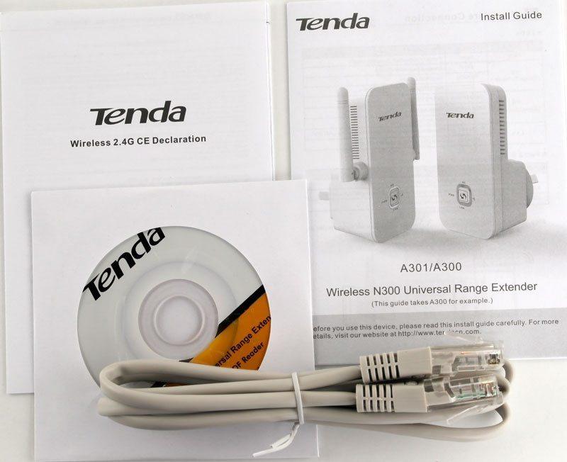 Tenda_A301-Photo-box-content