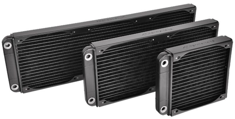 Thermaltake-Pacific-R180S,-360S,-540S-Radiators