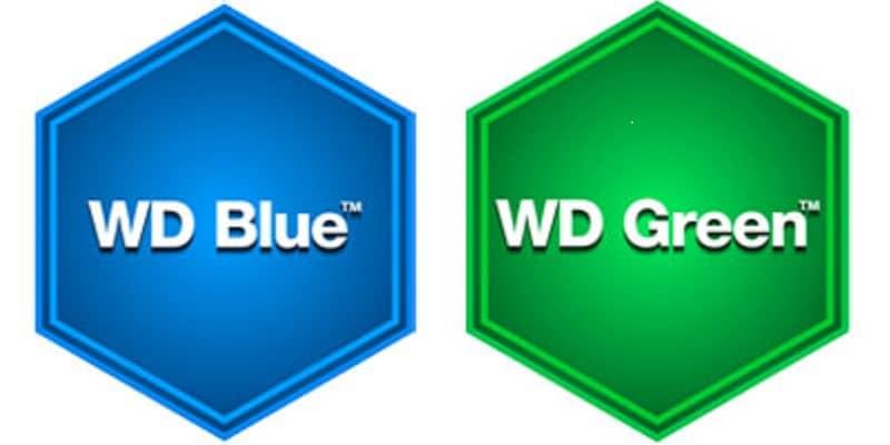 Western Digital Caviar Blue Green Logo Hard Drive HDD WD