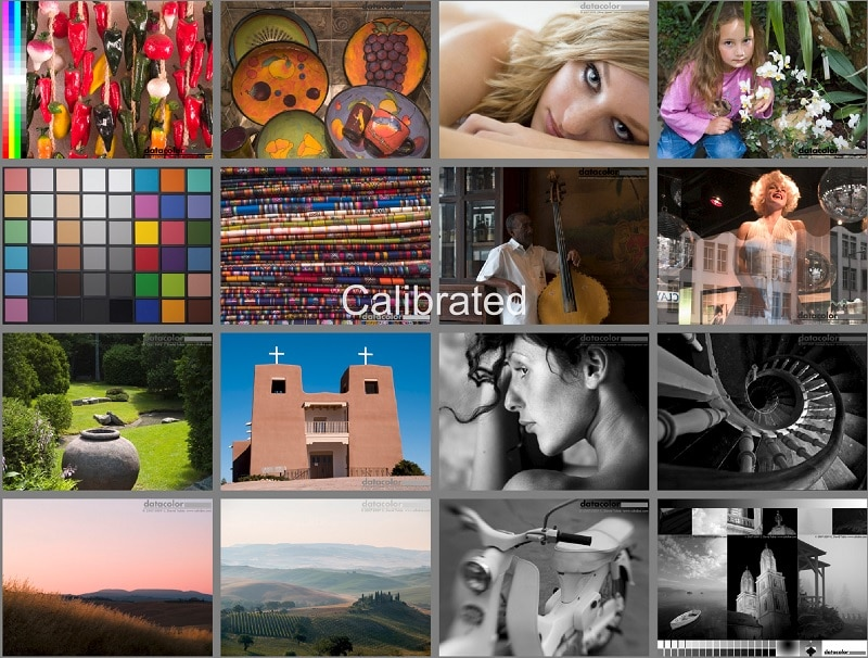calibrated image