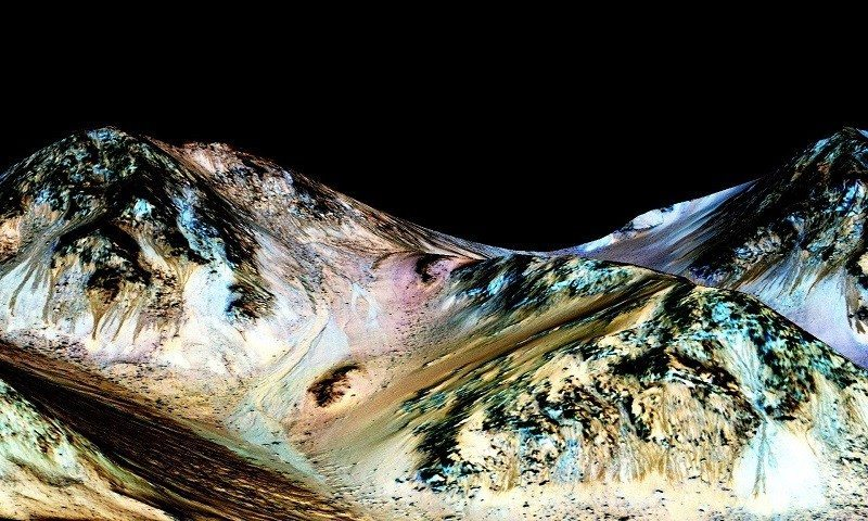water mars 2