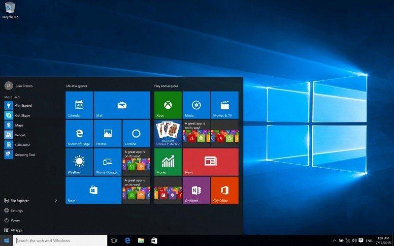windows 10 100 installs