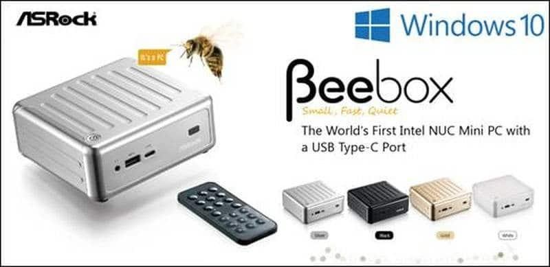 ASRock BeeBox Banner