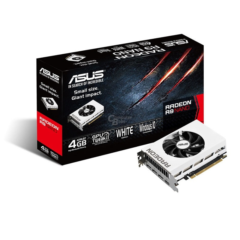 ASUS AMD R9 Nano White Edition GPU