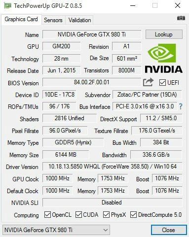 GPU-Z Stealth Sky