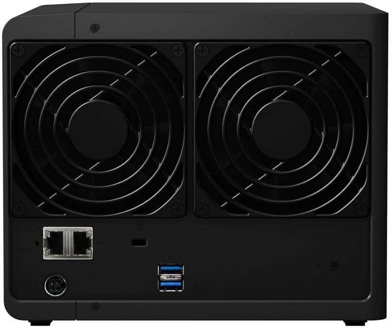 Synology DS416_back
