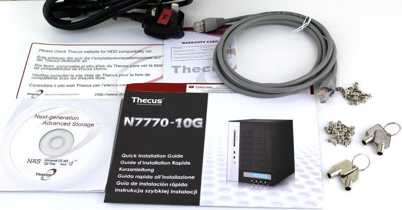 Thecus_N7770-10G-Photo-box accessories