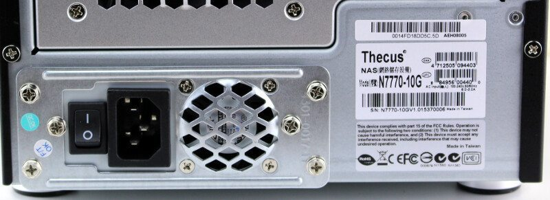 Thecus_N7770-10G-Photo-closeup psu