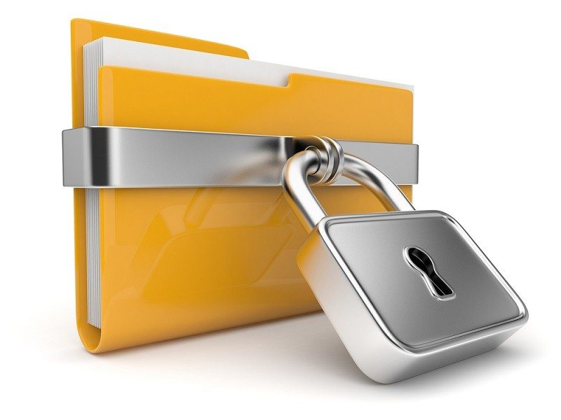 How to lock files and folder with password