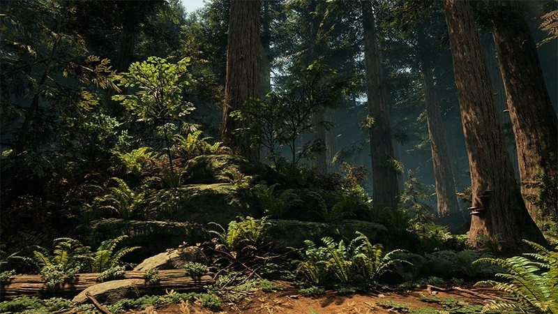 This Incredible Forest Map Was Made in UE 4 by a DICE Artist | eTeknix