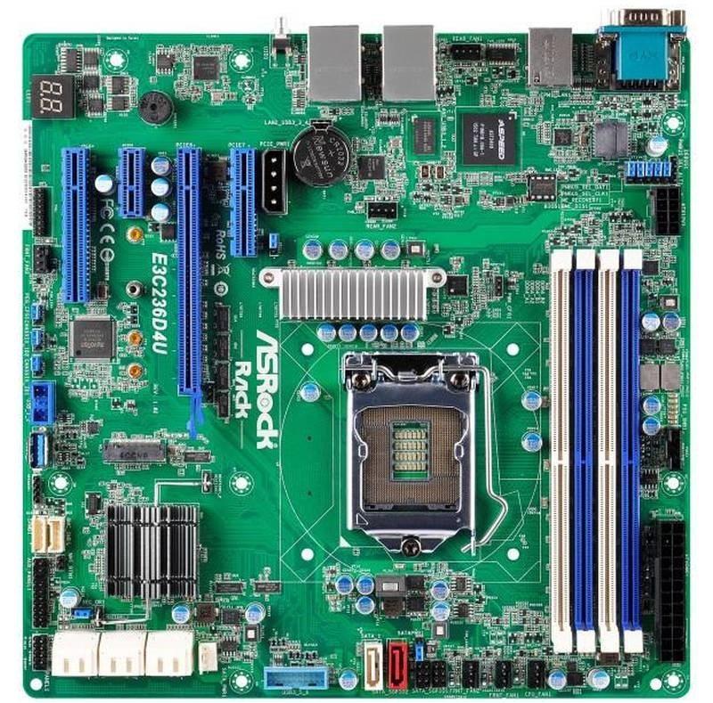 1 ASRock Rack E3C236D4U