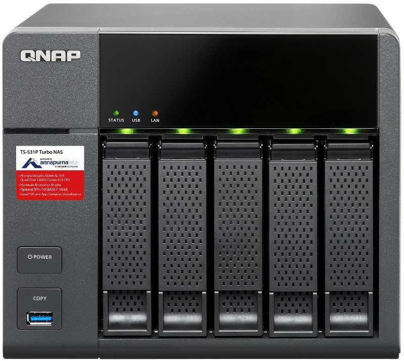 QNAP Launches TS-531P with 10GbE Support and Container Station | eTeknix
