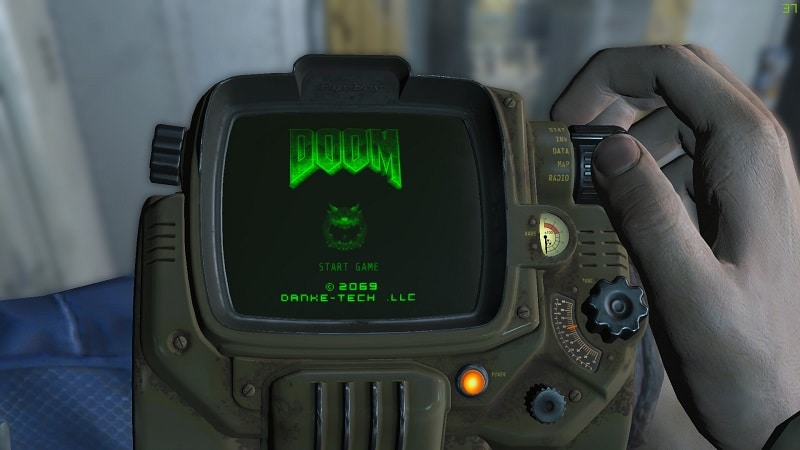 Doom is Now Fully Playable Using Fallout 4's PipBoy | eTeknix