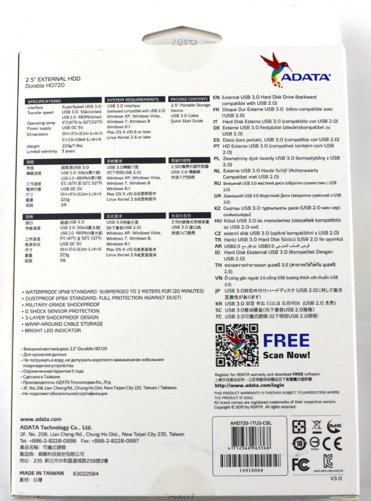 ADATA HD720-Photo-box bback