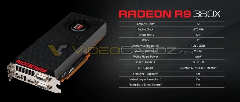 AMD R9 380X GPU 1
