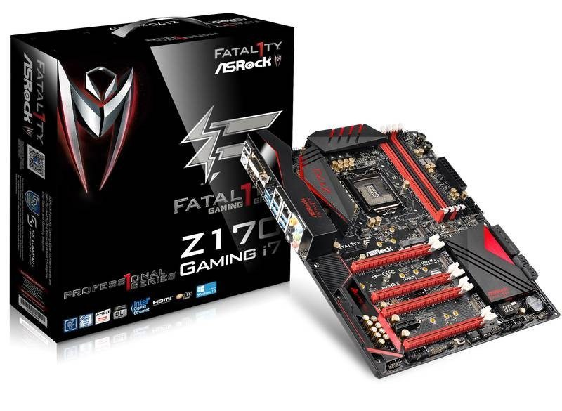 Fatal1ty Z170 Professional Gaming i7_box