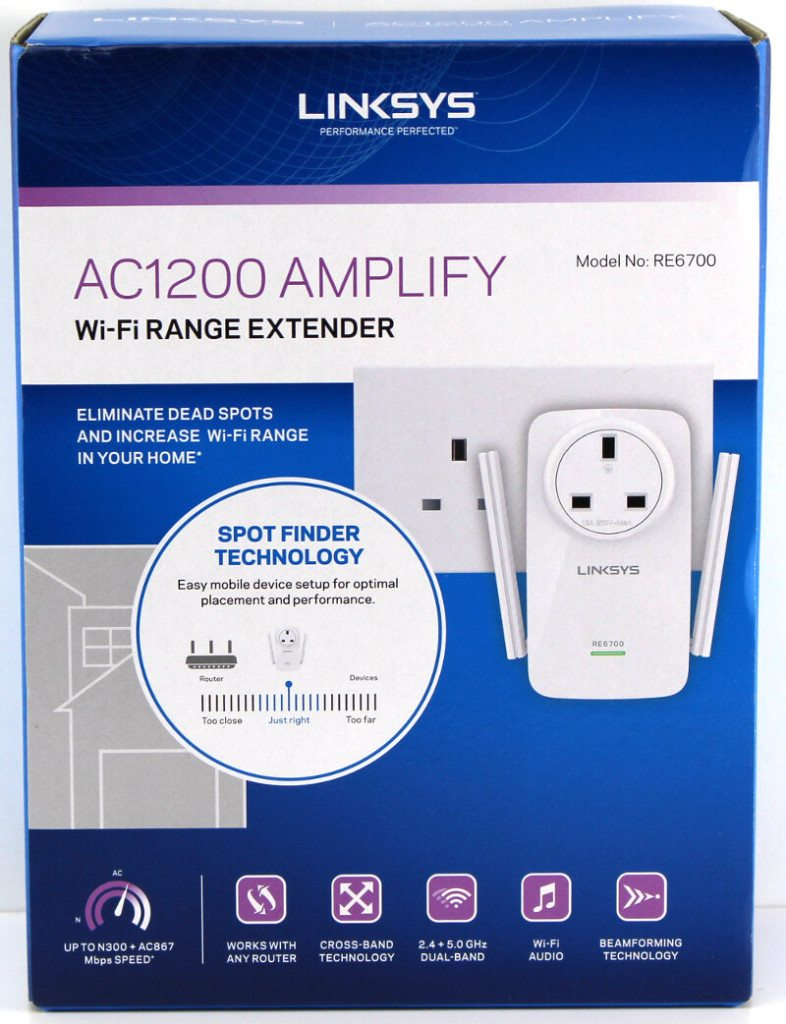 Linksys RE6700 AC1200 Amplify Wi-Fi Range Extender Review