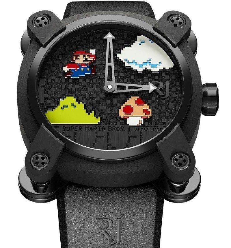 Romain Jerome Super Mario Bros anniversary watch