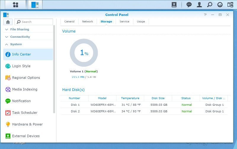 Synology_DS216play-SS-info 3