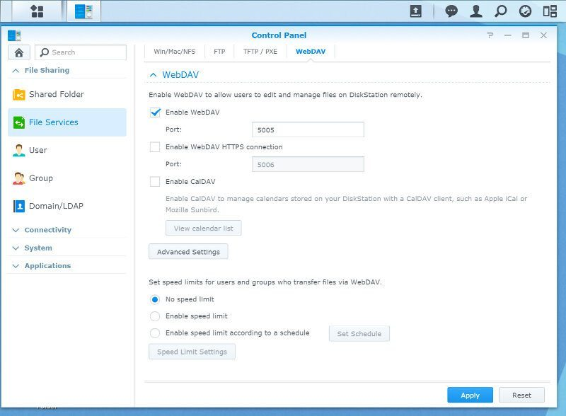 Synology_DS216play-SS-services 4