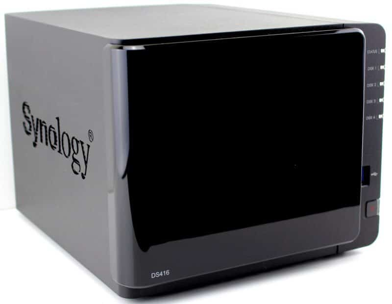 Synology_DS416-Photo-front angle