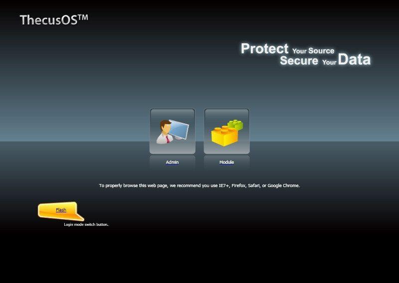 Thecus_N7770-10G-SS-login