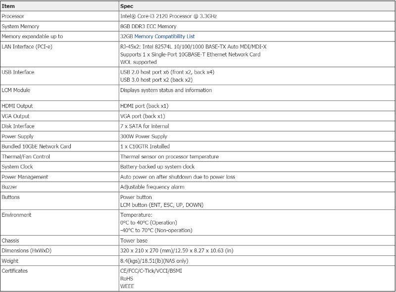 Thecus_N7770-10G-SSspecs-hardware