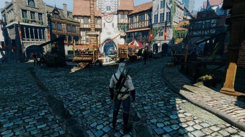 Witcher 3-2 unmodded
